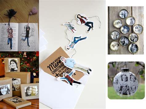 decorar regalos con fotos 60 brillantes ideas para decorar con fotos familiares