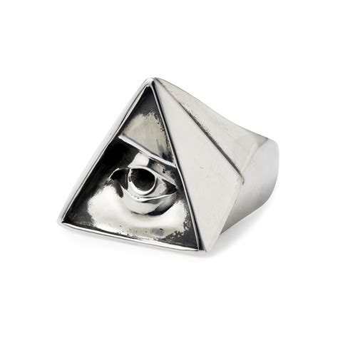 all seeing eye in the all seeing eye ring the great frog
