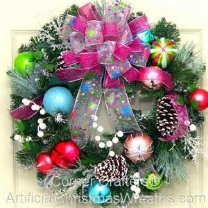 Christmas Wreath Tis The Season Christmas Wreath Cornercrafters Com