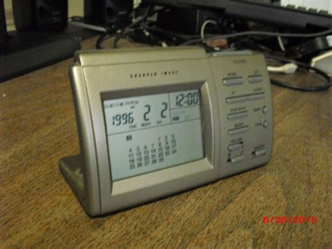 free talking alarm clock sharper image other electronics listia auctions for free stuff