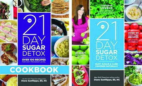 21 Day Sugar Detox Cookbook by Healthy Reads For A New You In 2014 Times Union
