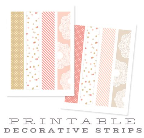 decorative printable address labels chic party label printables by falala designs worldlabel