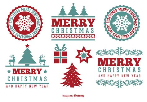 Sticker Parkir Gratis merry label set free vector