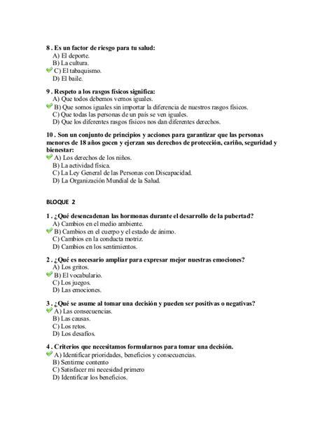 preguntas abiertas sobre la integridad examen de formaci 243 n c 237 vica y 201 tica contestado