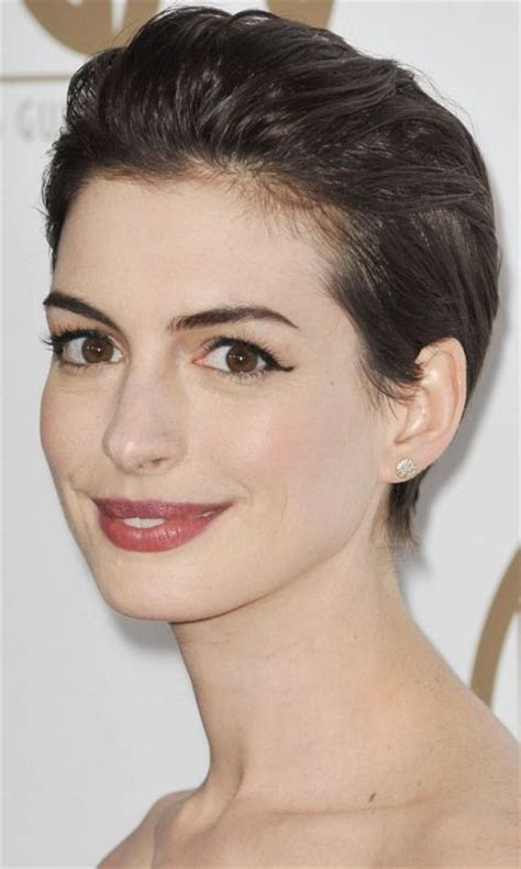 short hair styled with tousling or directed away from the face 17 best ideas about slicked back hairstyles on pinterest