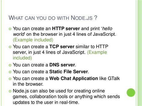 node js tcp tutorial introduction to node js