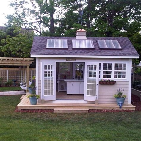 she shed office outside kitchen shed whatever love thiiiiiiiiiiis shed