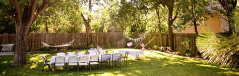 backyard birthday ideas 10 unique backyard party ideas coldwell banker blue matter