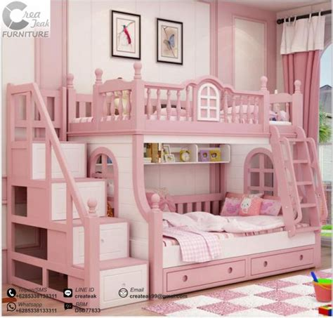 Dipan Kasur Anak dipan minimalis anak perempuan neverland createak furniture createak furniture