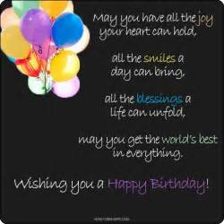 birthday card sayings happy birthday wishes quotes quotesgram