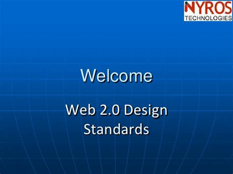 web layout design standards web 2 0 design standards by nyros developer