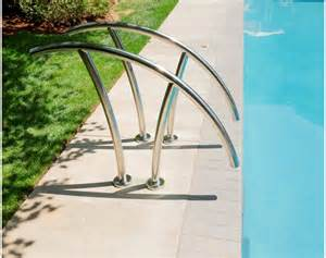 pool handrail installation artisan series rail 1001 s r smith products