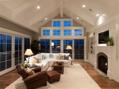 Vaulted Ceiling Decorating by Ideas For Decorating Rooms With Vaulted Ceilings House