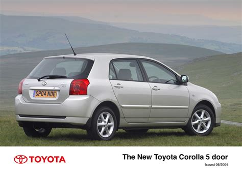 toyota uk the 2004 toyota corolla toyota uk media site