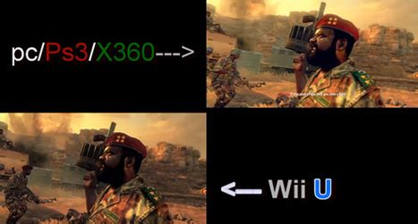 graphics war wii u vs treyarch gives black ops 2 tips for minimizin