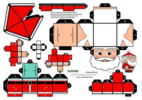 Santa Claus Paper Craft - miniman santa claus by miniman005 on deviantart