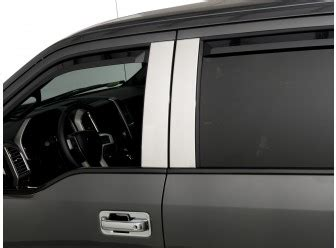 Adell Stainless Steel Door Edge Guards - ford f series door edge guards ford truck accessories
