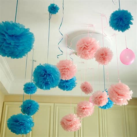 How To Make Tissue Paper Flower Balls - 92 how to make paper flower balls for wedding diy