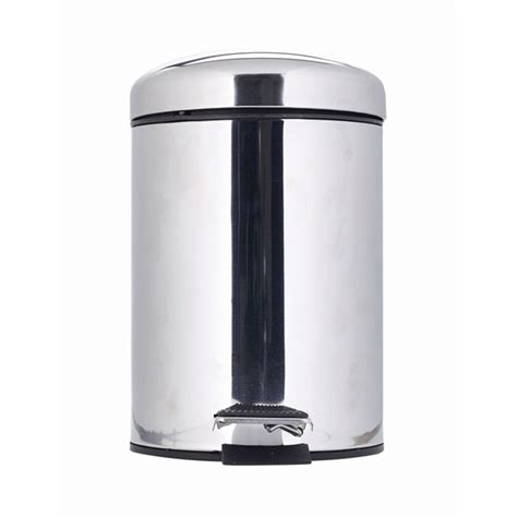 Retro Dining Room Table Stainless Steel Pedal Bin 3l Love Tiki Barware Products