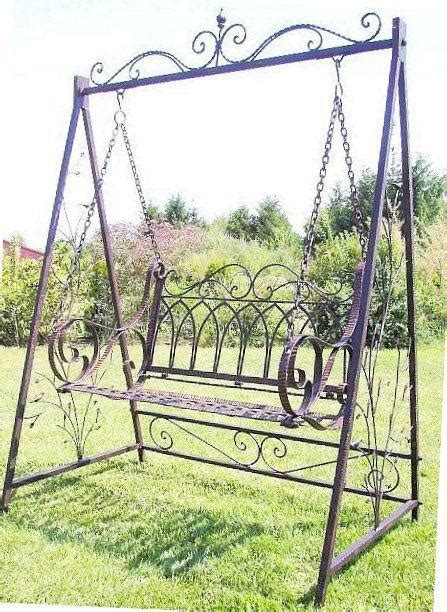 wrought iron swing seat swing swing seat 18688 with chains metal wrought iron