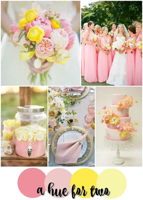 25 best ideas about pink yellow weddings on yellow wedding colors yellow weddings