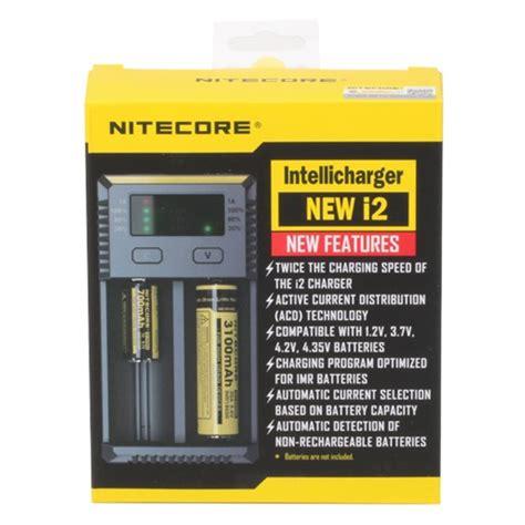nitecore charger i2 nitecore intellicharger new i2