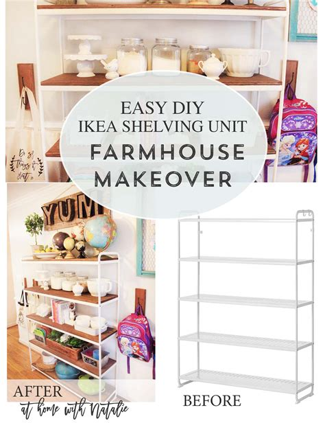 diy ikea storage inattendu diy ikea shelving unit farmhouse makeover at home with