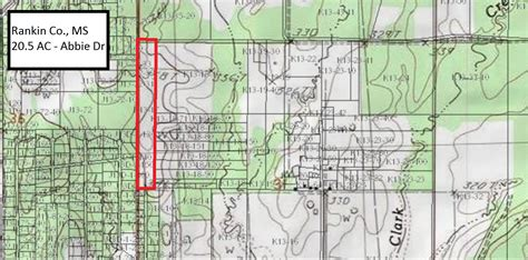 Rankin County Property Records 20 50 Acres Residential Land Rankin County Ms Land And Farm