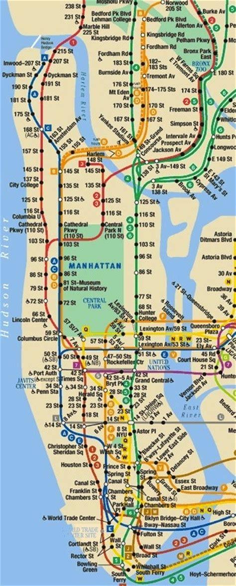 subway map for manhattan manhattan subway map new york city the arts