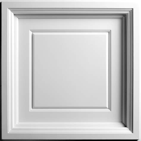 White Coffered Ceiling by Ceilume White Coffered Ceiling Tile 2 X 2