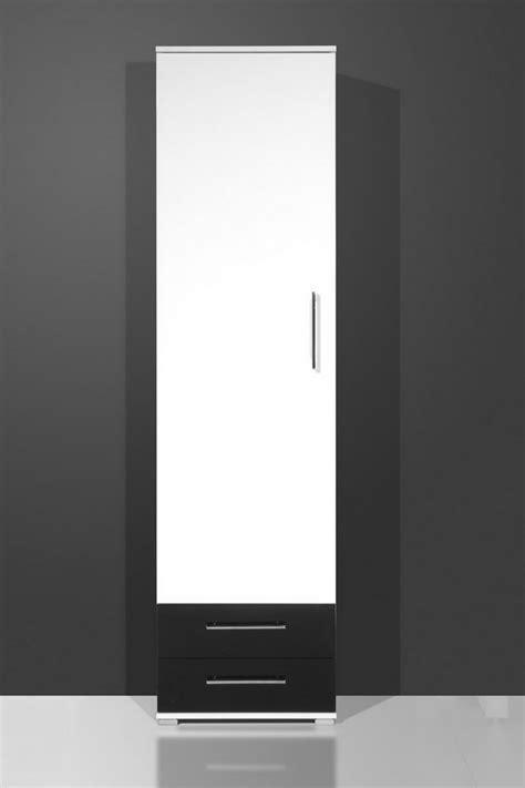 kleiderschrank schwarz schiebetüren kleiderschrank dielenschrank wei 223 schwarz hochglanz