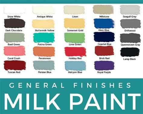 general finishes milk paint pints and quarts