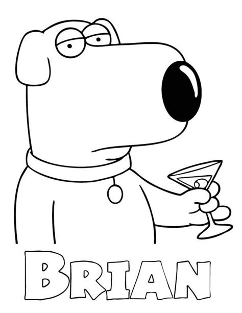 peter griffin coloring pages coloring home