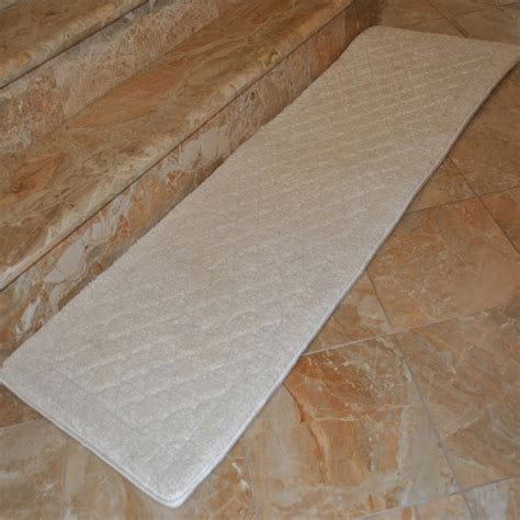 long bathroom rug fashion street extra long memory foam bath rug 1 8 quot x 5 4
