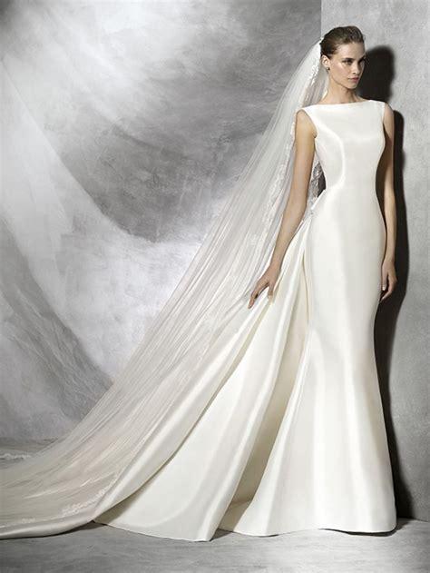 best 25 satin wedding gowns ideas on wedding