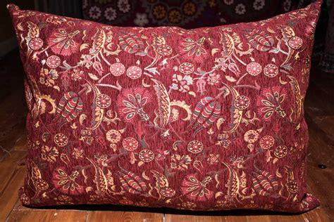 ottoman cushion covers turkish floor cushion cover in burgundy ottoman fabric