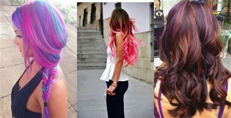 colored hair extensions 1000 ideas about colored hair extensions on