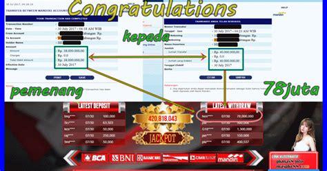Testimoni Pemenang Rp 78,000,000 saat bermain di PokerMas88Agen Poker Online Terpercaya