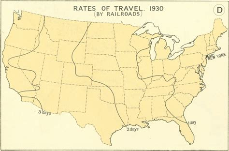 map of the united states in 1800 how fast could you travel across the u s in the 1800s