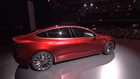 Tesla Be A Meet Tesla S Model 3 Its Awaited Car For The Masses