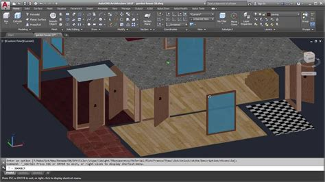 youtube tutorial autocad 3d autocad 3d house modeling tutorial part 14 using