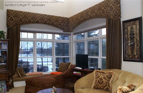 Custom Window Cornice Cornice Window Treatments With Drapery Panels Interior