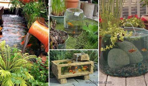 Backyard Aquarium by 15 Awesome Small Backyard Aquarium Diy Ideas Http Www