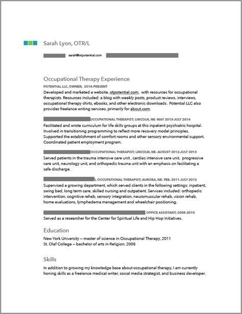 6 Steps To The Right Ot Job Ot Potential Occupational Therapy Resources Occupational Therapy Documentation Templates