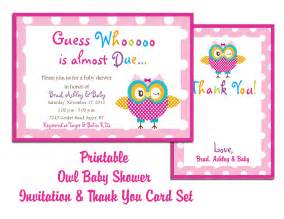 free owl baby shower invitation template theruntime