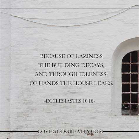 idle hands bible the folly of laziness god the o jays and the building