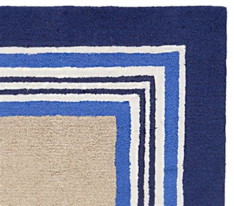 Tailored Striped Rug Blue Pottery Barn Kids Pottery Barn Striped Rug