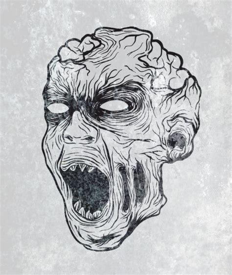 Drawing Zombies by How To Create A Gruesome Illustration