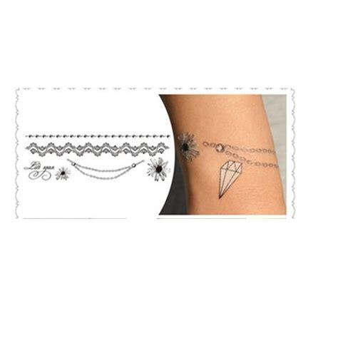 Aufkleber Punkte Wasserfest by Fu 223 Kettchen Armband Aufkleber Blume Schreiben Kette