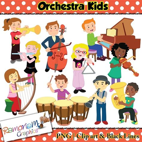 orchestra clipart orchestra clip children a variety of